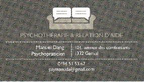 Psychothérapeute Manuel Dang GENVAL