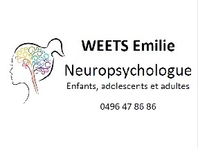 Emilie Weets Neuropsychologue BRAIVES