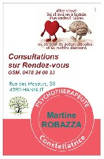 Martine ROBAZZA HANNUT